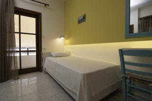 Room 5, bed